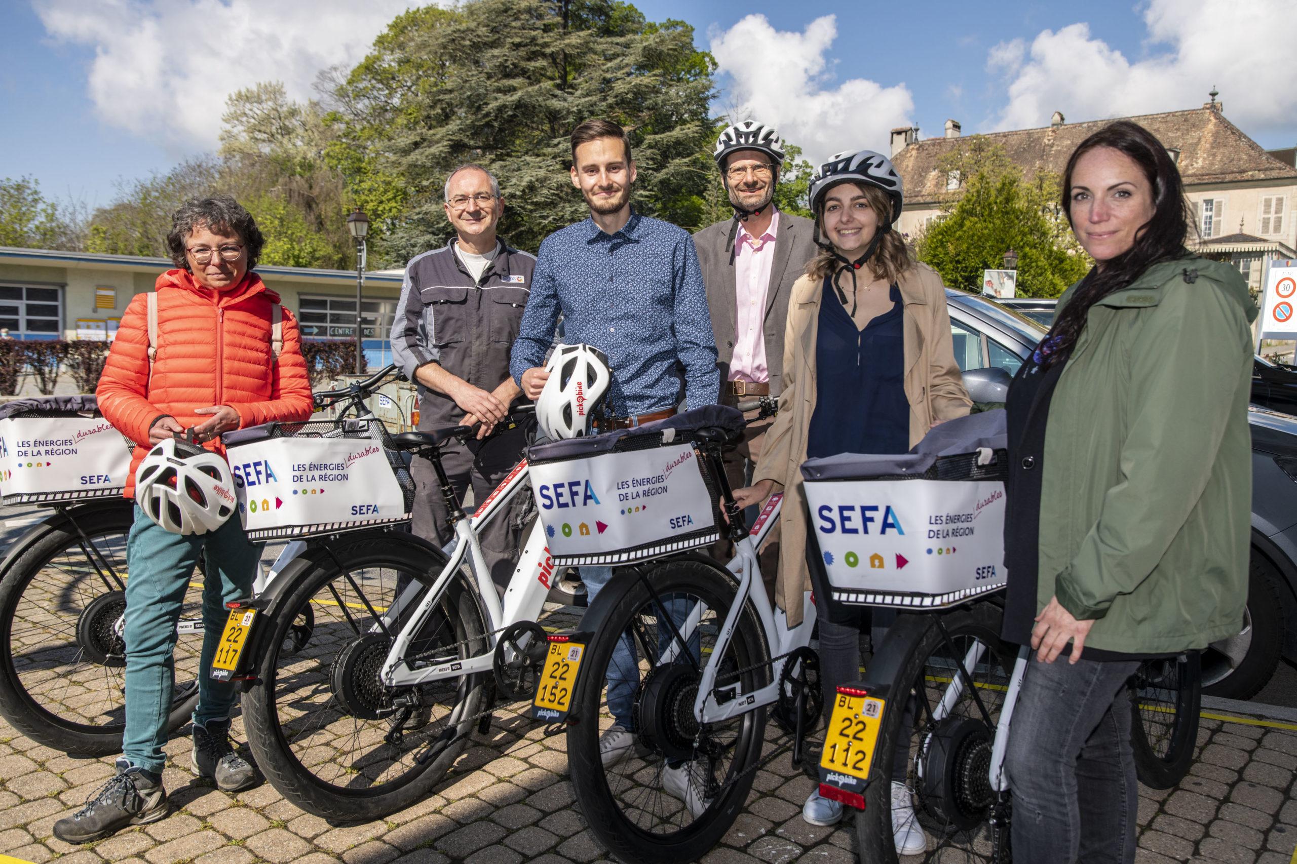 Un réseau de vélos électriques pour les Aubonnois