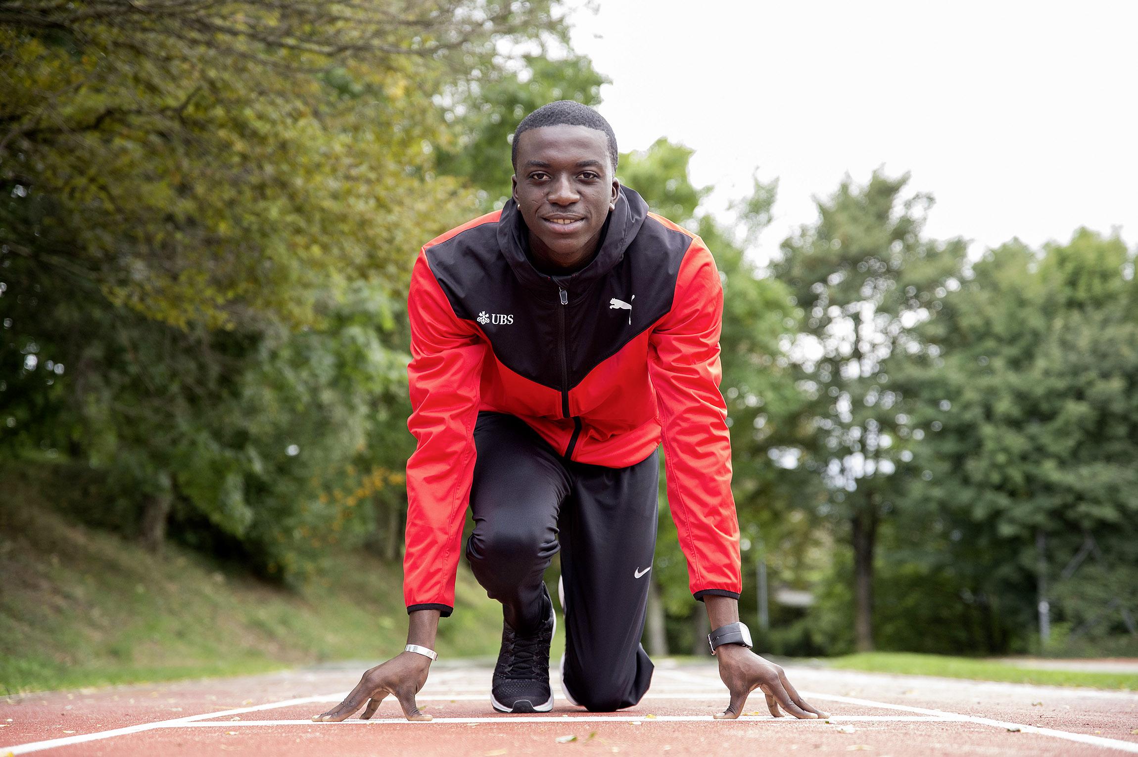 Dernier appel pour les Jeux : Alain-Hervé Mfomkpa