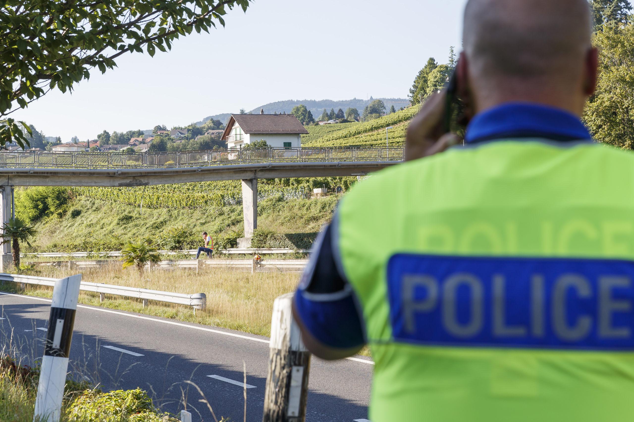 L'A1 près de Cossonay bloquée après l'embardée d'un camion