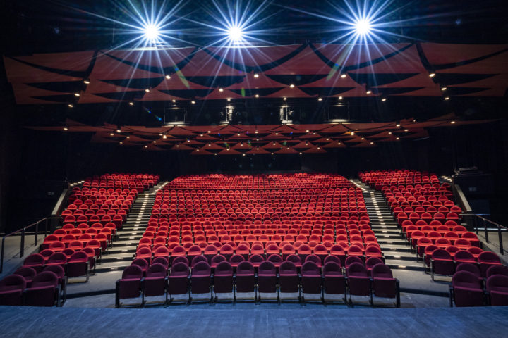 Théâtre de Beausobre, nouvelle salle 2021. Photo: Bovy