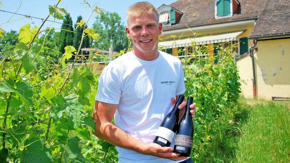 Un jeune viticulteur prometteur