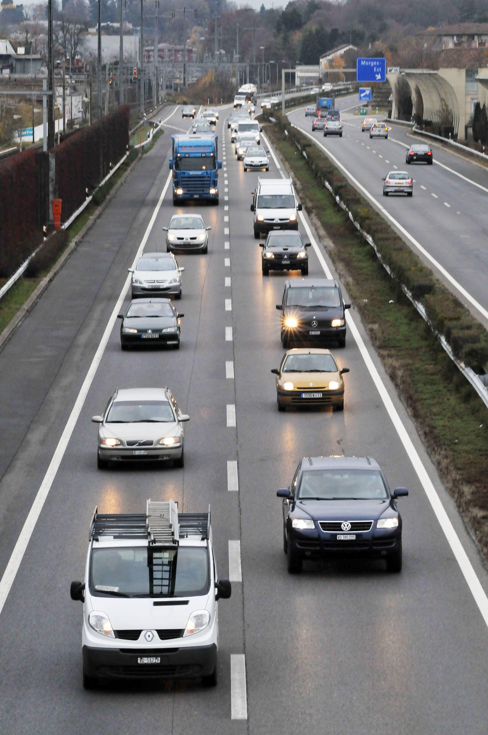 Morges souhaite une autoroute à 80km/h