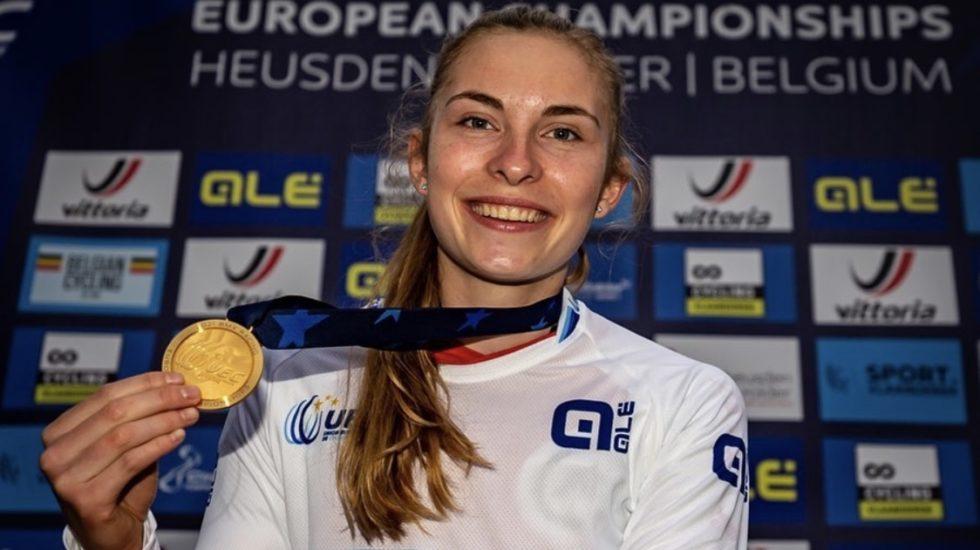 Zoé Claessens championne d'Europe de BMX!