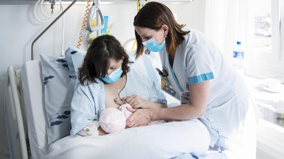 La maternité de Morges radieuse face à la crise