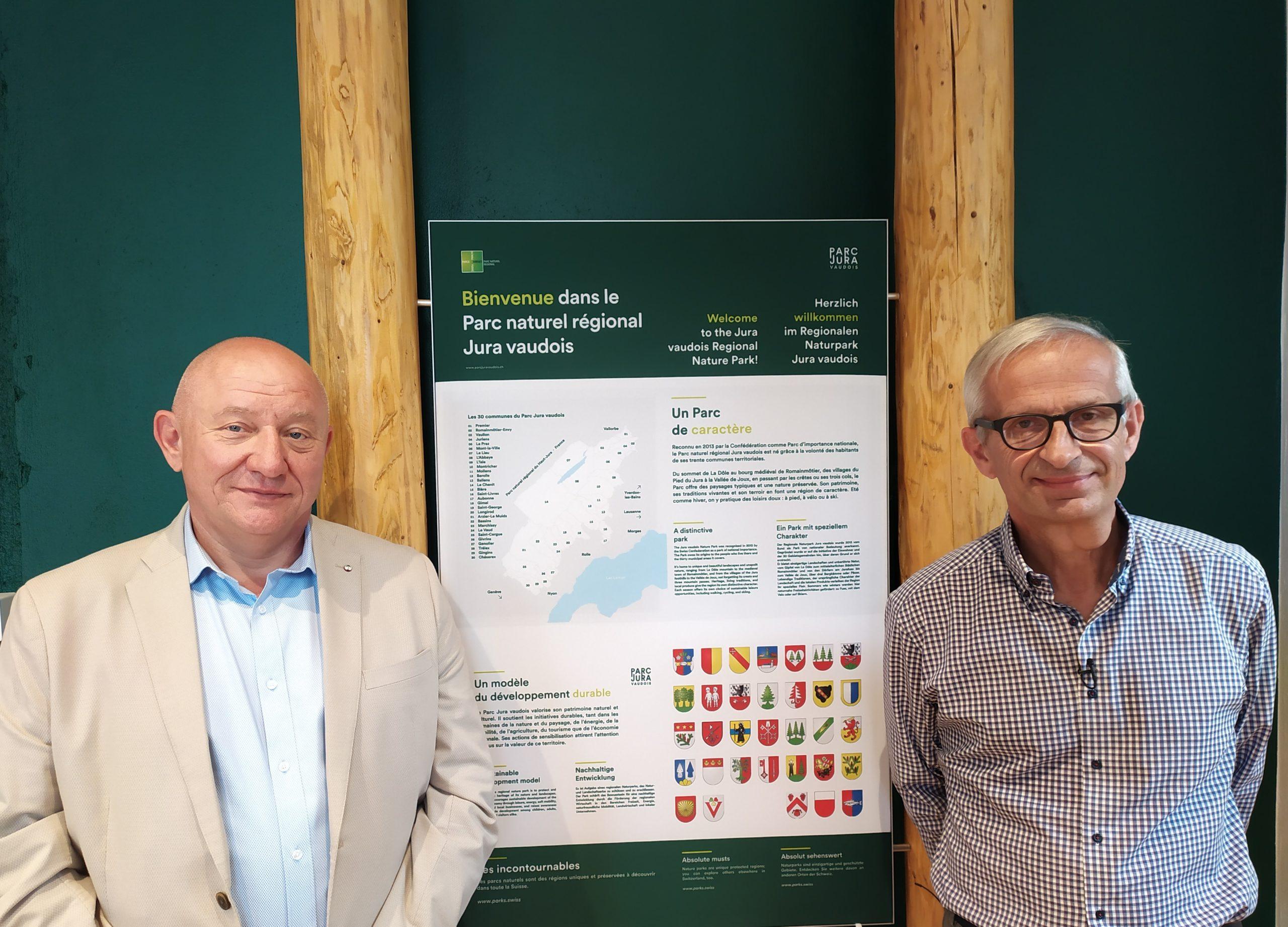 Nouveaux visages pour le Parc du Jura vaudois