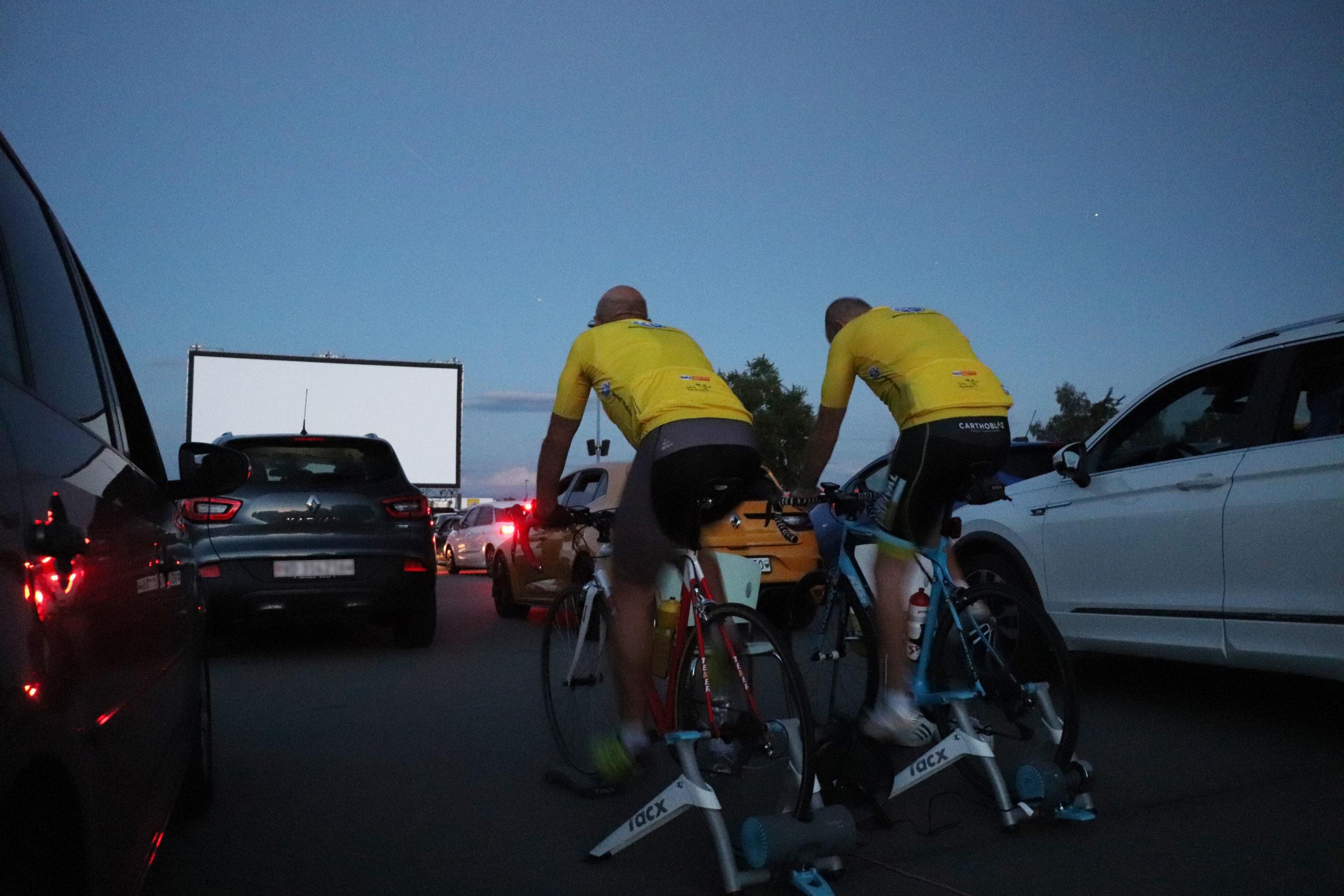 Cossonay: Le Drive-in à vélo