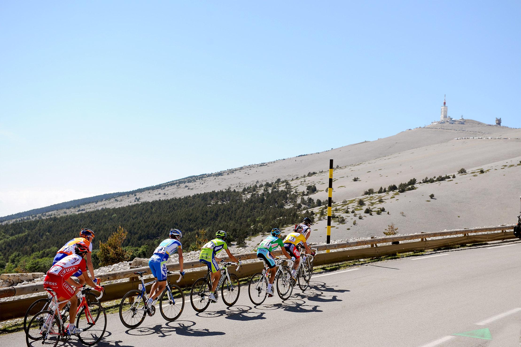 A l'assaut du Ventoux, un mythe du Tour de France!