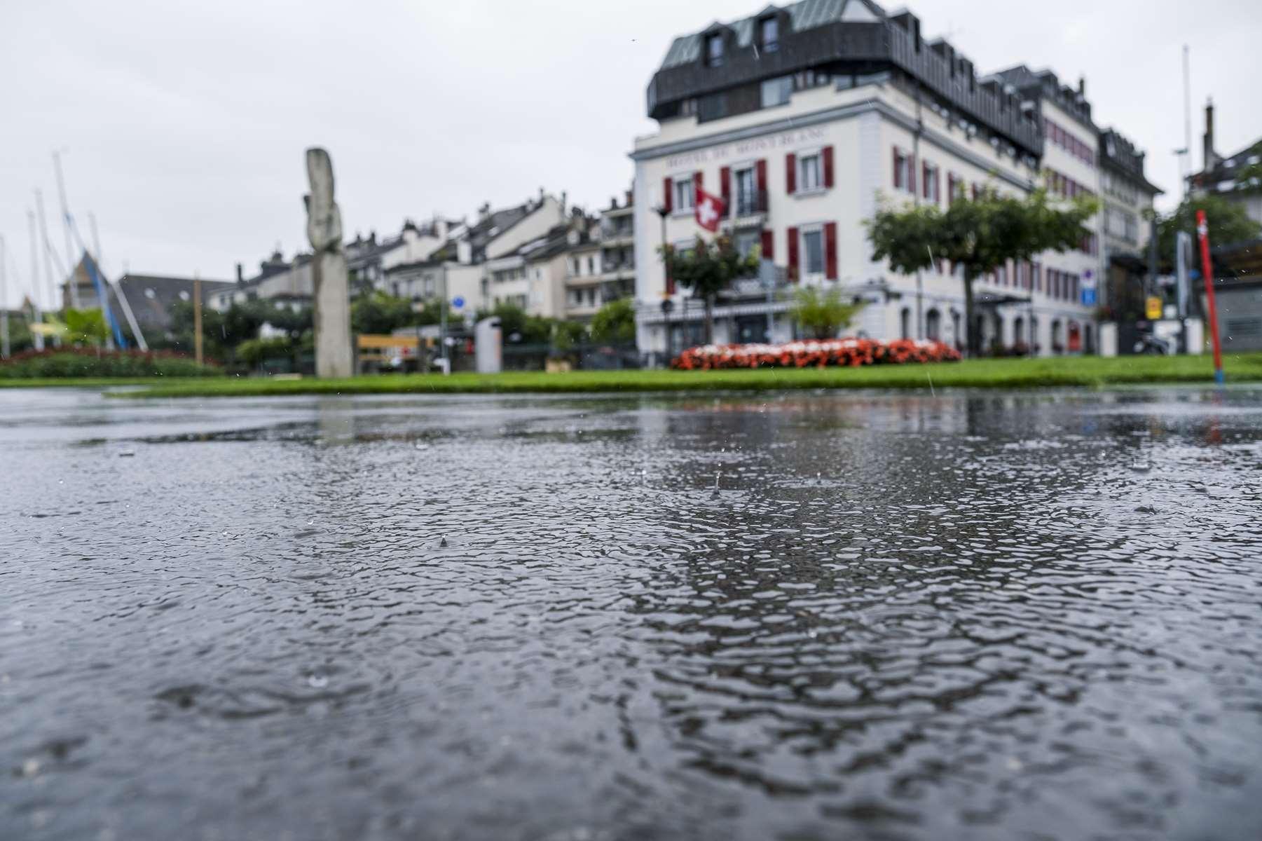 Le district sous l'eau