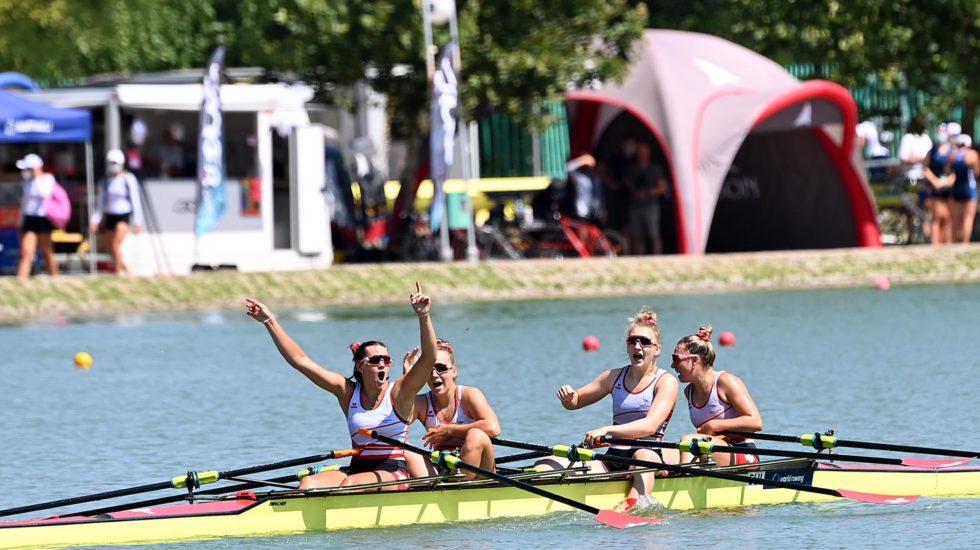 Une championne du monde au Forward Rowing Club