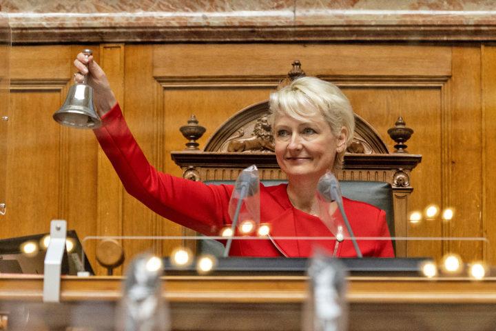 Isabelle Moret est candidate à l'élection au Conseil d'État