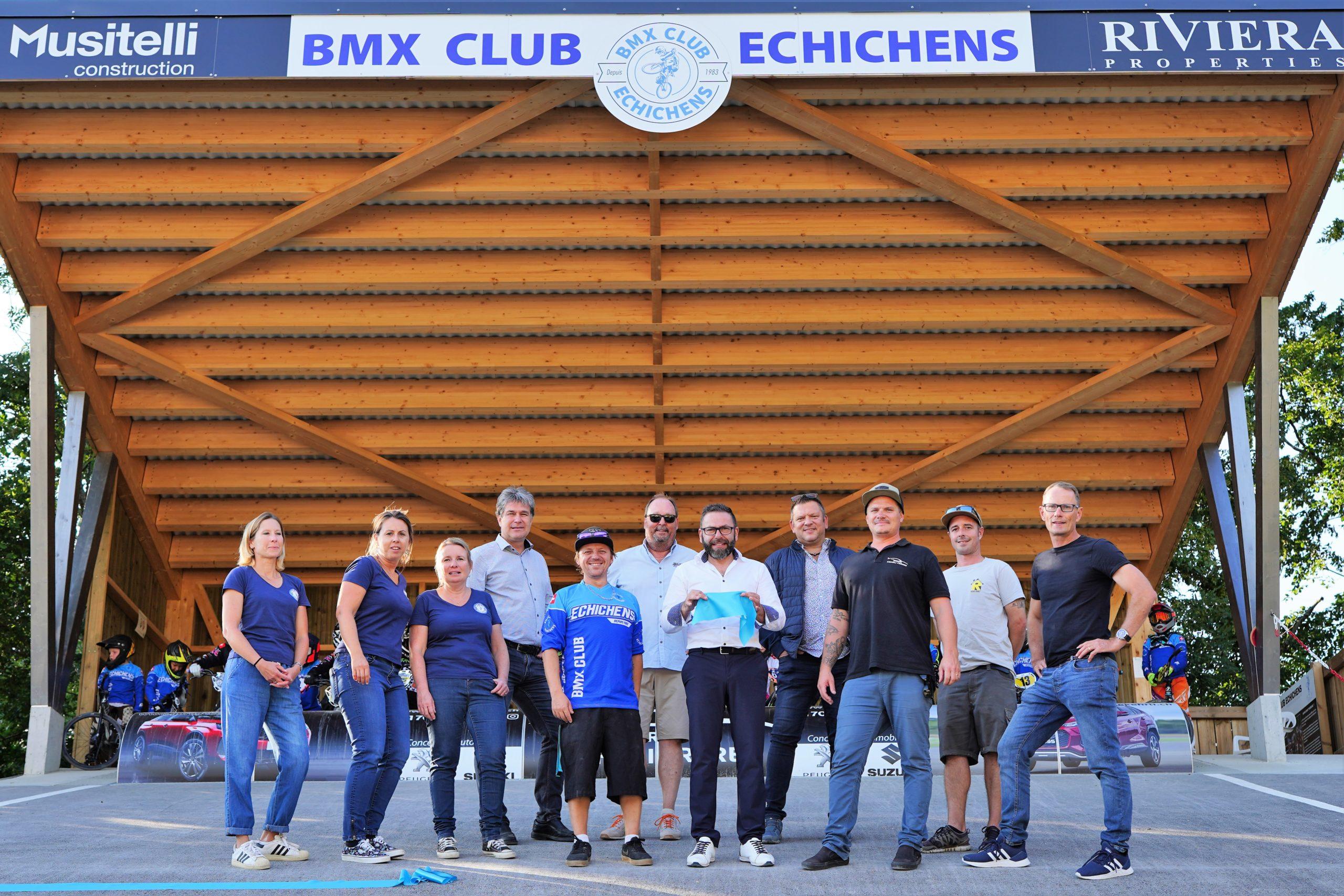 Du nouveau au club de BMX d'Echichens