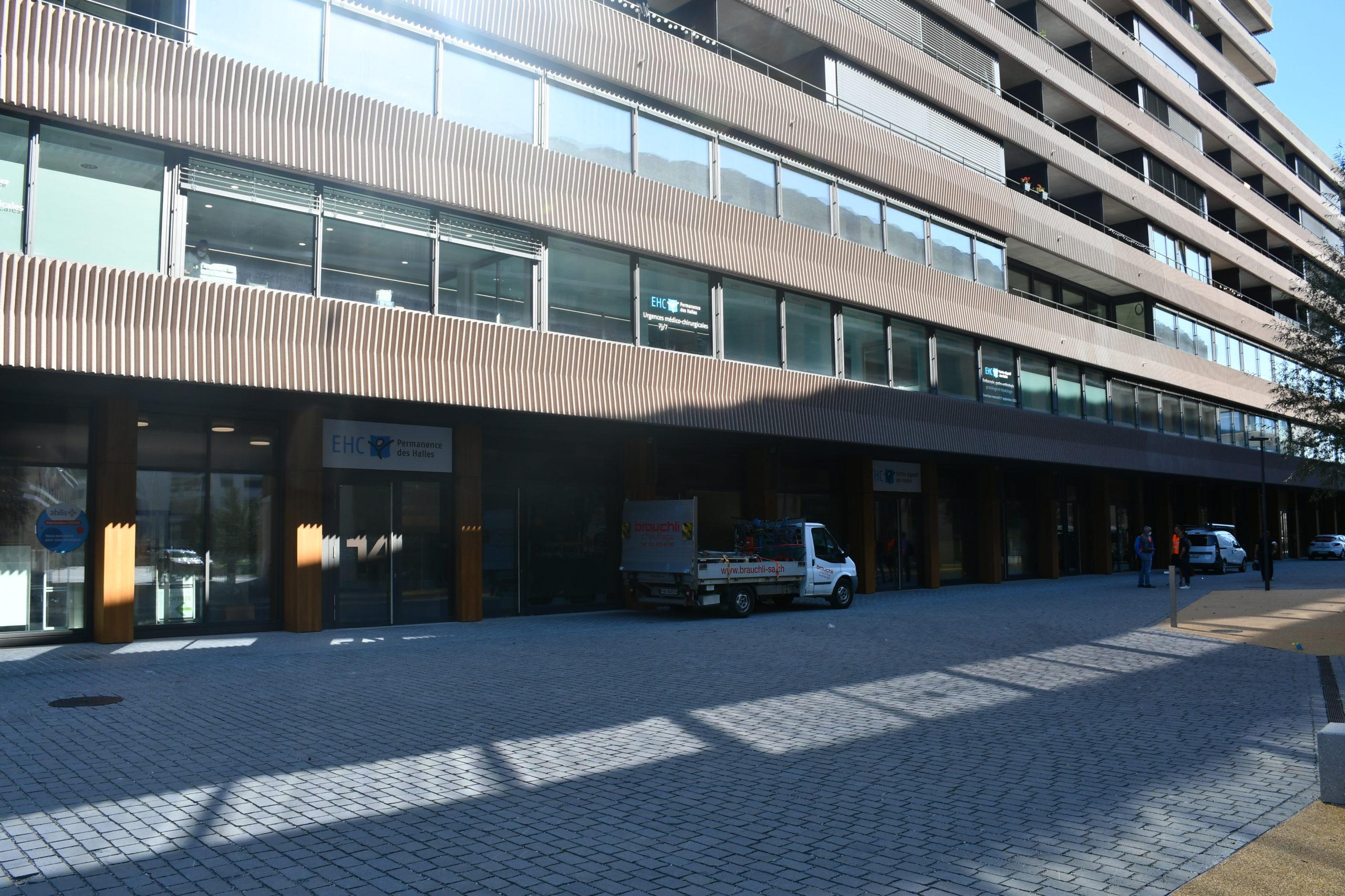 Ouverture d'urgences et d'un centre digestif en gare de Morges