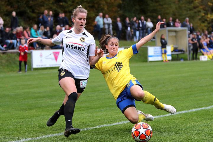 Les Morgiens de la Coupe I Le FC Pied du Jura Féminin face à Young Boys