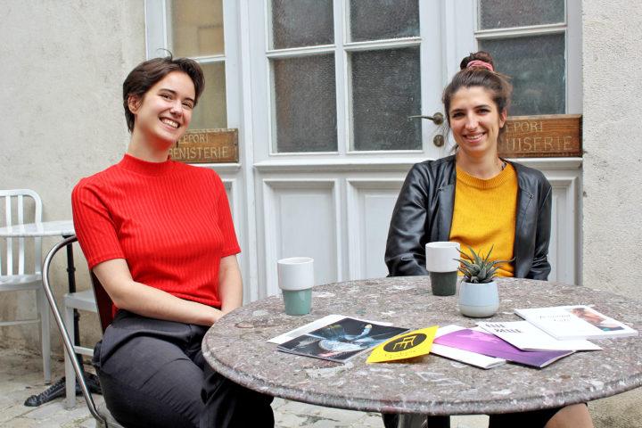 Deux poétesses punk lancées dans l'édition