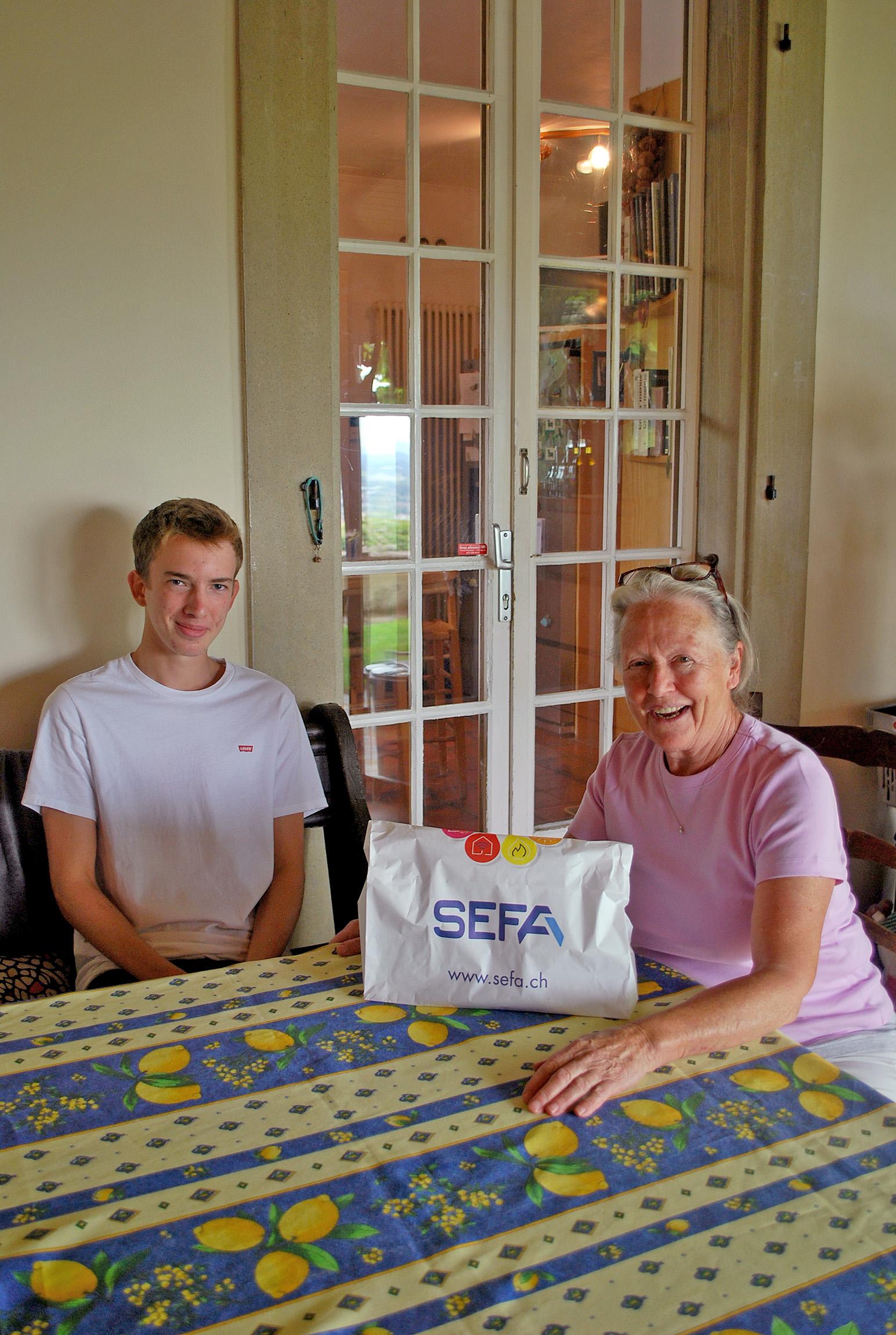 La SEFA à la rescousse des seniors