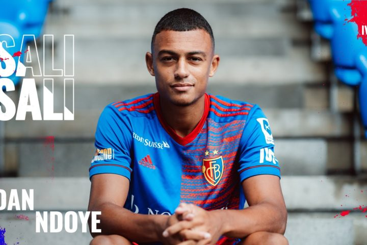 Dan Ndoye signe au FC Bâle