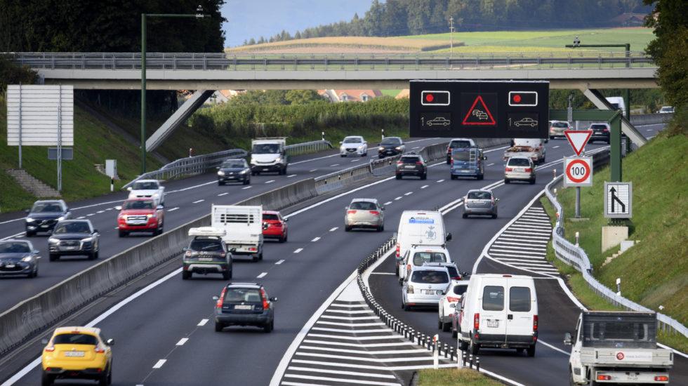 Feu rouge pour doser les entrées sur l'autoroute à Cossonay