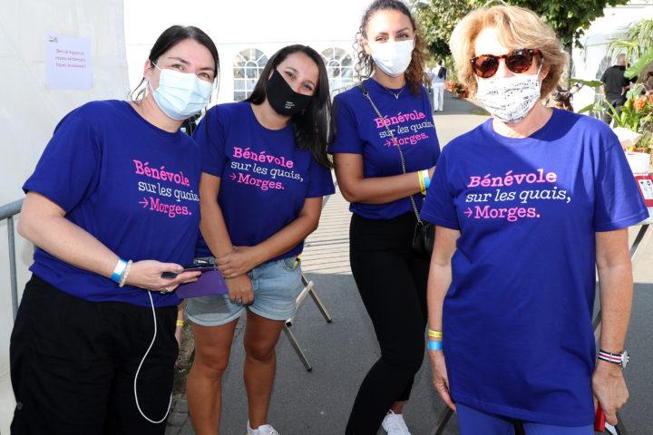 Les bénévoles ont participé au bon déroulement de l'événement.Photo: François Moesching.