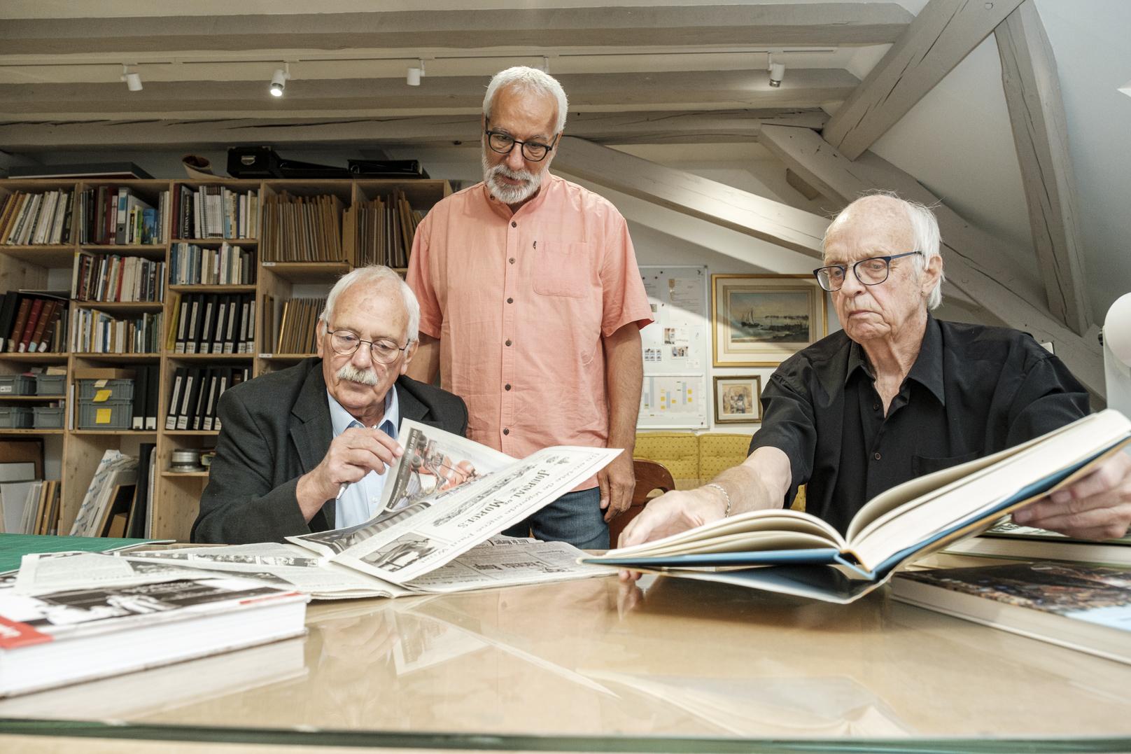 Cent ans de vie à Morges expliqués en photos