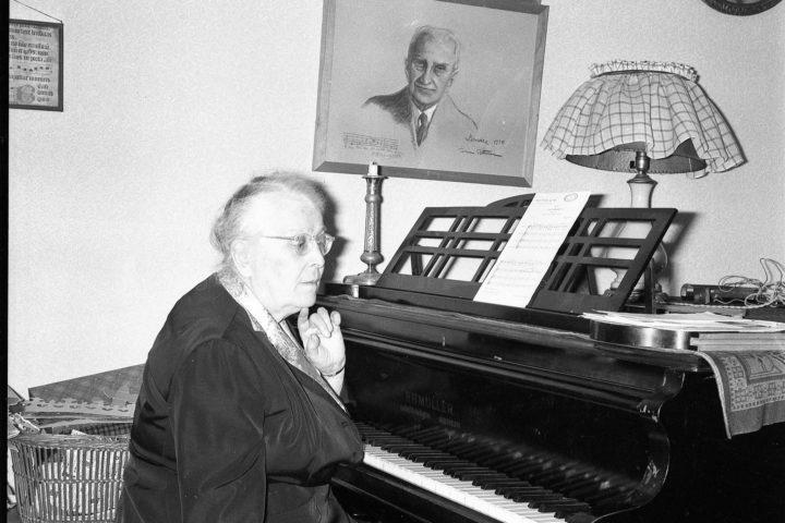 La vie musicale de Lydia Opienska