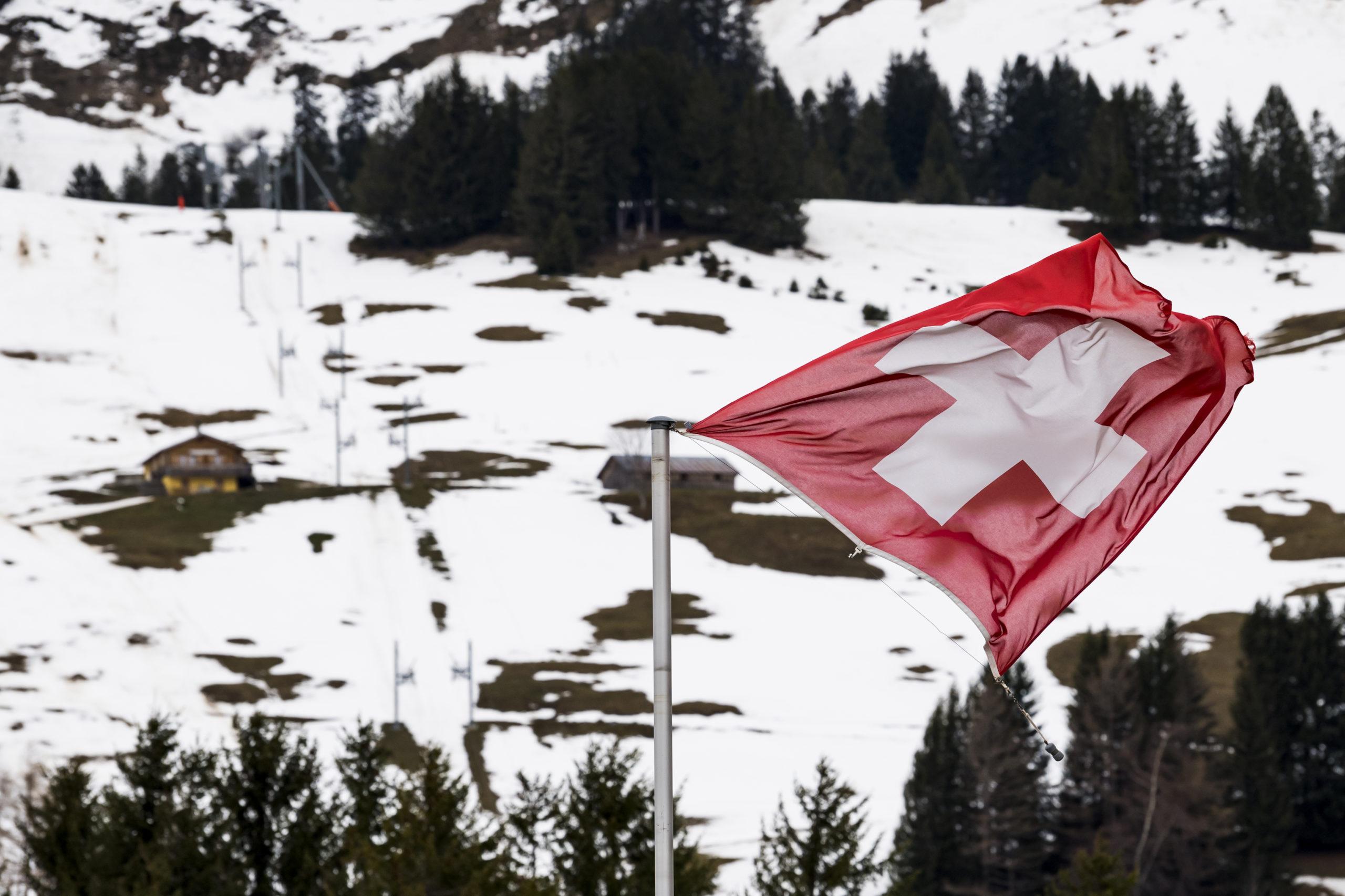 Une tempête traverse la Suisse