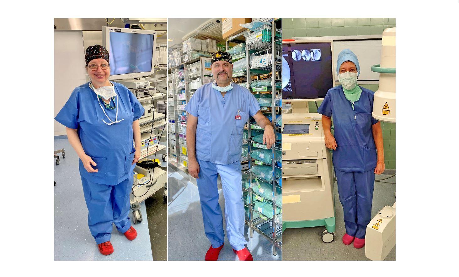 Les anges gardiens du bloc opératoire