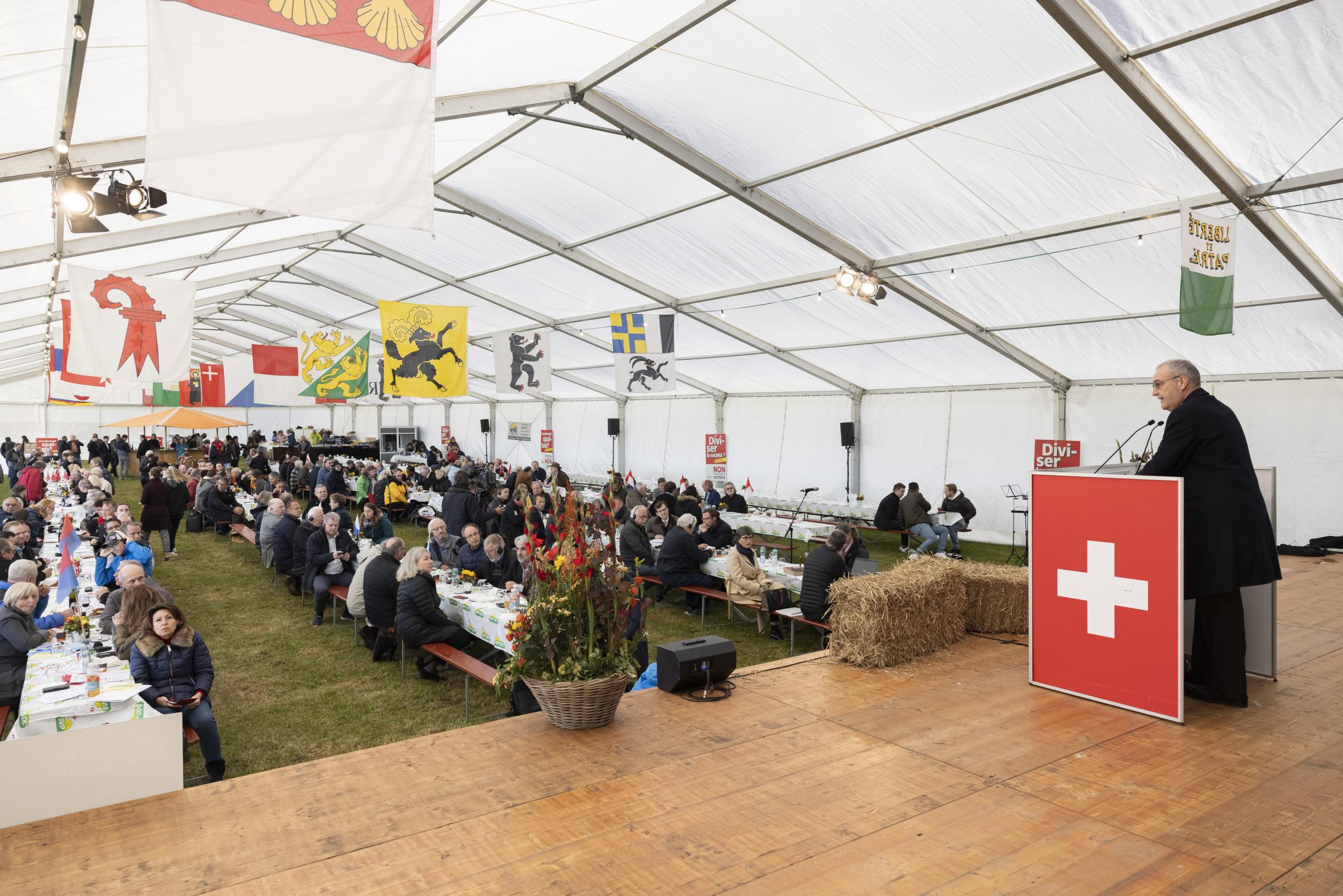 L'UDC Suisse en conclave à Montricher!