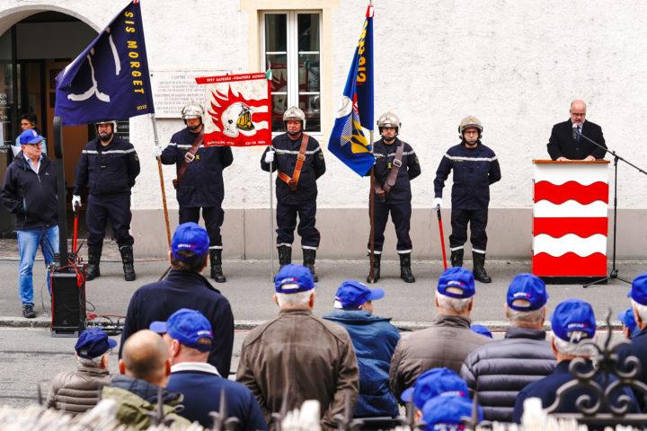 La mémoire des pompiers honorée