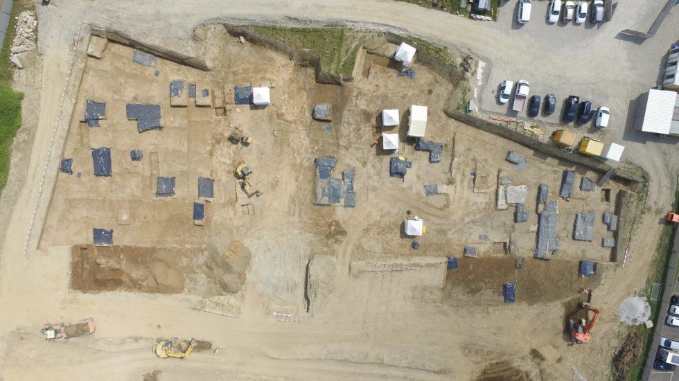 Un grand cimetière de l'âge du Bronze final découvert à Denges